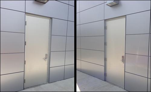 Best Buy Mobile - Personnel Doors & Cline Doors - Aluminum and FRP Door Project Gallery