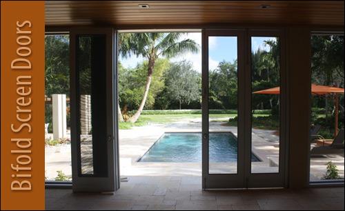 Custom Bifold Screen Doors & Cline Doors - Aluminum and FRP Door Project Gallery