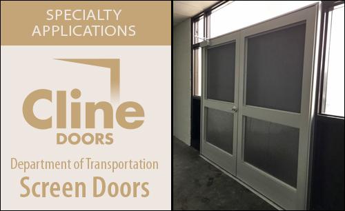 Department of Transportation - Screen Doors & Cline Doors - Aluminum and FRP Door Project Gallery
