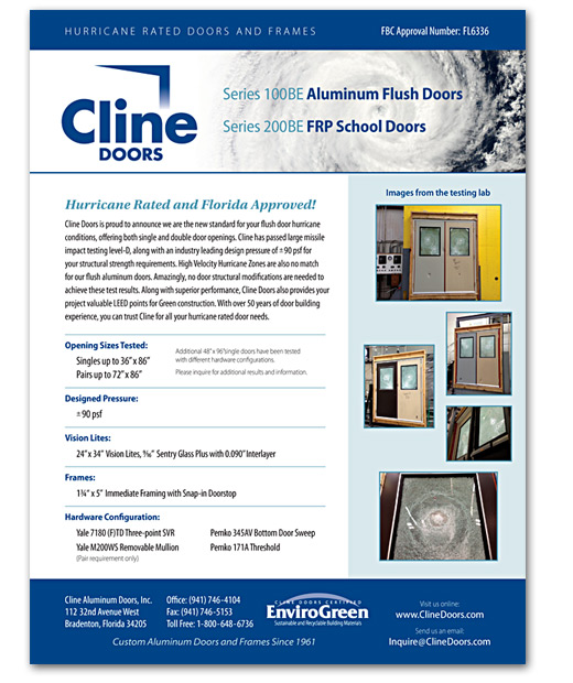 Cline Doors - Impact Test  sc 1 st  Cline Doors & Cline Doors - Aluminum and FRP Door Impact Test